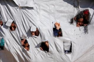 کودکان در اردوگاههای سوریه