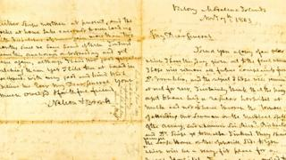 Lord Horatio Nelson letters auction Napoleon