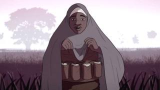 法爾瑪塔是居住在尼日利亞北部的一名穆斯林女孩