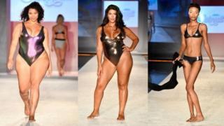 بحث از آنجا در گرفت که در یک نمایش مد مدلهایی با اندام و سایزهای مختلف روی صحنه رفتند