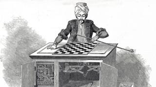 """Ilustración de un """"turco mecánico"""""""