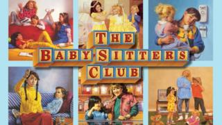 Picture showing original babysitters club