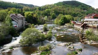 The River Dee at Llangollen