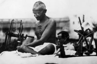 Archive photo of Mahatma Gandhi