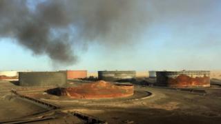 Badhi ya visima vya mafuta Libya