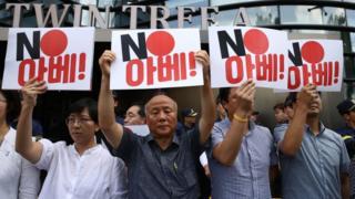 Las recientes medidas comerciales de Japón han generado gran malestar en Corea del Sur.