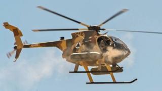 حمله هوایی نیروهای امنیتی افغانستان