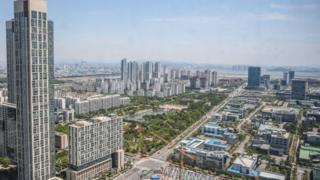 Fase pertama pembangunan Songdo International Business District selesai hanya dalam lima tahun.