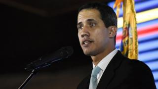 Opposition leader and self-declared interim president of Venezuela Juan Guaidó, 31 January 2019