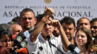 Ông Juan Guaidó