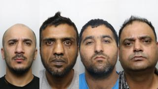 Usman Ali, Banaras Hussain, Abdul Majid and Gul Riaz