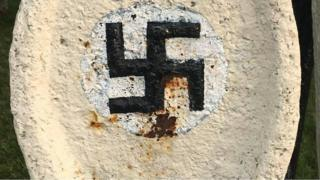 Anchor with swastika