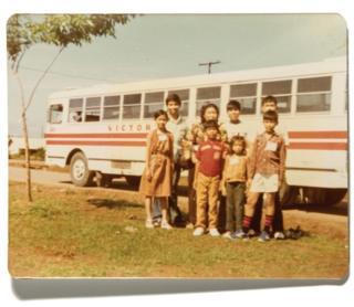 Porodica na Filipinima.