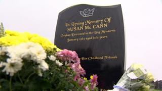 Susan McCann: Headstone is unveiled for child drowned in 1963