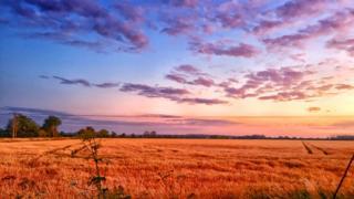 Sunset in Eynsham