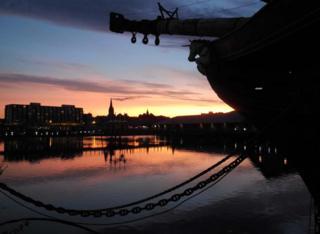 HMS Unicorn in Dundee