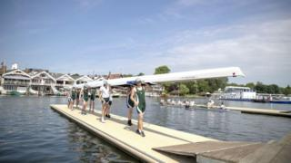 Henley regatta team