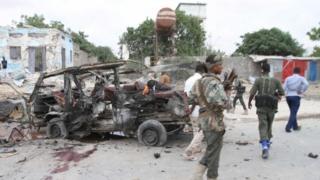 Могадишу, взрыв