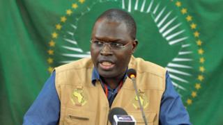Khalifa Sall, the mayor of Dakar, the capital of Senegal
