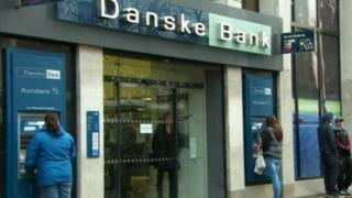 Danske Bank said operating profit had risen 13%