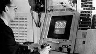 Ivan Sutherland con su programa Sketchpad