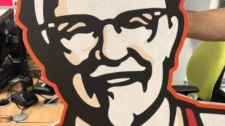 Stolen Colchester KFC Colonel Sanders found out under mattress thumbnail
