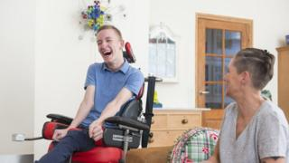 Patient with ALS