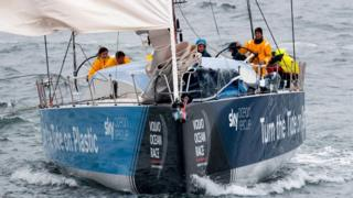 Turn The Tide On Plastic on leg 9 of the Volvo Ocean Race