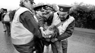 Orgreave miners' strike