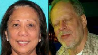 Composite of Marilou Danley and Stephen Paddock