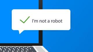"""""""No soy un robot"""""""