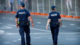 Police in Brisbane (file image)
