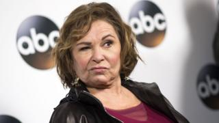Actress Roseanne Barr in January 2018
