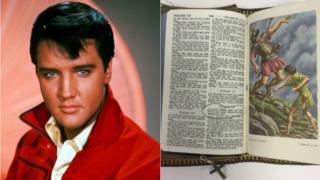 Elvis Presley's bible
