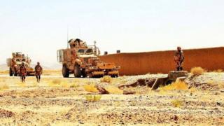 حمله به کاروان ناتو در قندهار