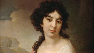 Портрет Анны Петровны Лопухиной-Гагариной кисти Владимира Боровиковского (1801 год)