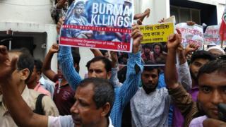 কলকাতায় মুসলিম ও মানবাধিকার সংগঠনগুলোর বিক্ষোভ
