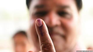 छठे चरण का मतदान