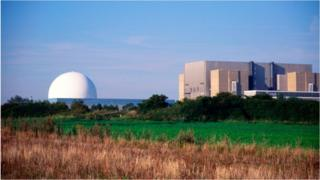 Sizewell nuclear power plant