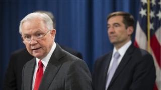 وزير العدل جيف سيشنز أعلن مبادرة لمواجهة التجسس الاقتصادي المزعوم من جانب الصين