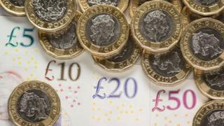 Sterling banknotes and £1 coins