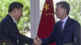 Macri y Xi