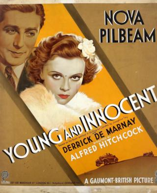 in_pictures Young and Innocent film poster