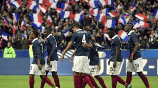 French football players