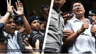 Myanmar, tự do báo chí, Reuters