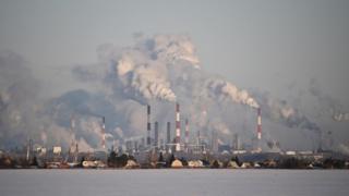 Omsk'ta Gazprom'un rafinerisi bulunuyor