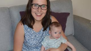 Kirsty and her daughter Molly