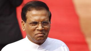 Le président du Sri Lanka, Maithripala Sirisena