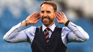 Garth Southgate, England manager.