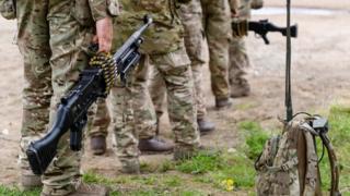 5 RIFLES battlegroup soldiers